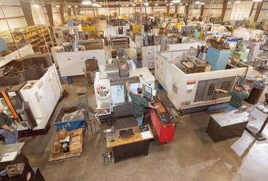 Our facility today holds machines with more advanced capabilities that allow us to manufacture more than ever.