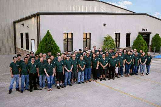 Our incredible team today works together to manufacture quality products every day.