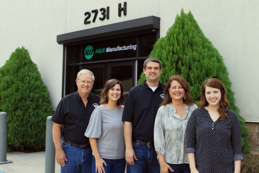 Anthony Hildebrandt cofounded H&W Manufacturing in 1977. We are now a second-generation, family-owned and operated business. H&W is 50% woman-owned.